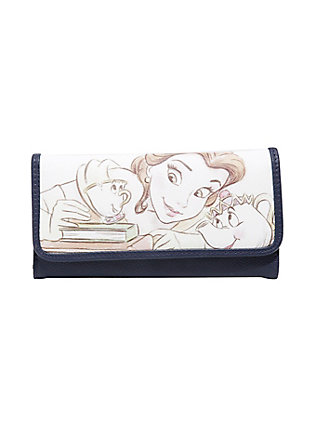 Drawn purse chip Beast Wallet Sketch Beauty and