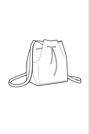 Drawn purse coloring 1970s Best Stationery new bucket