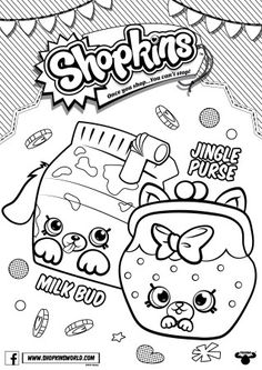 Drawn purse coloring Free Coloring Color by Shopkins
