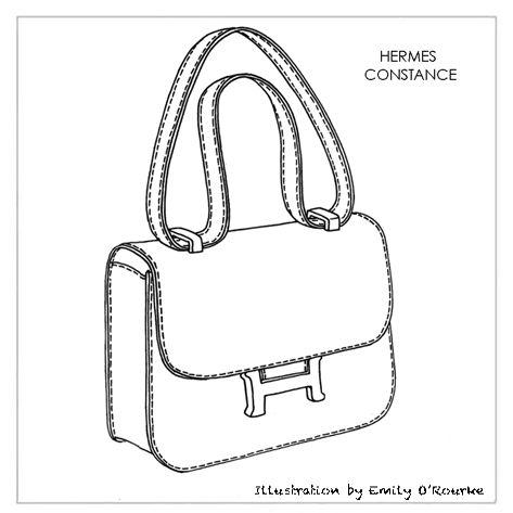 Drawn purse designer bag Handbag Pinterest on Sketch images