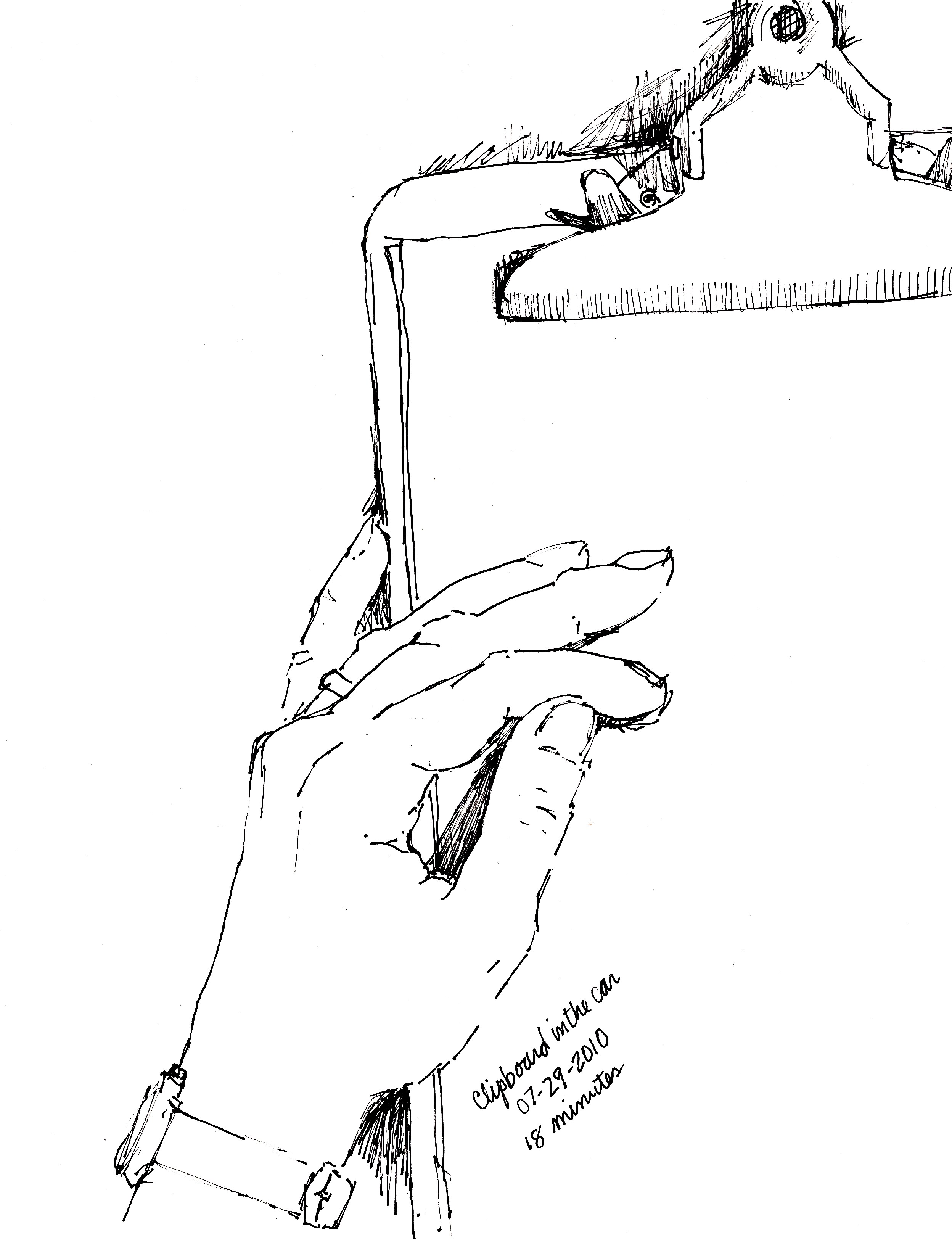 Drawn purse hand holding My of by same purse