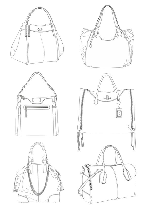 Drawn purse hatched Sketches Samuel 39 on Scalzo
