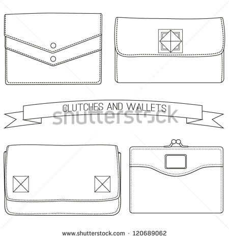 Drawn purse line drawing Google 39 bag sketches on