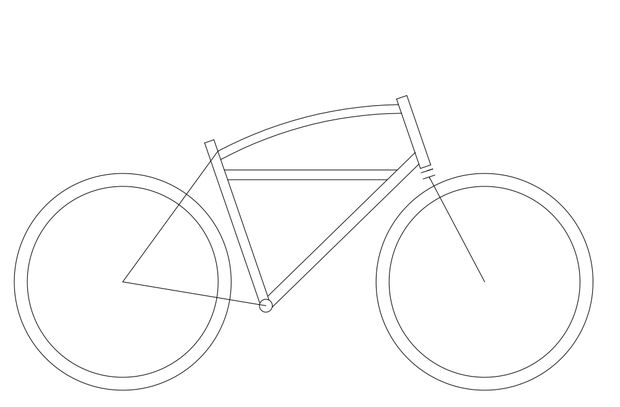 Drawn pushbike Build Design Frame: Pictures) Bicycle