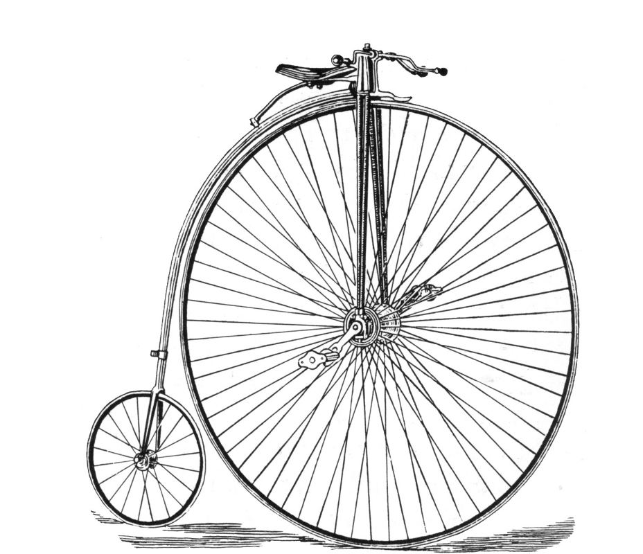 Drawn pushbike Vintage MySpace Bicycle Vintage Background