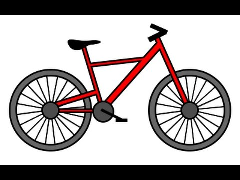 Drawn pushbike To How step draw step