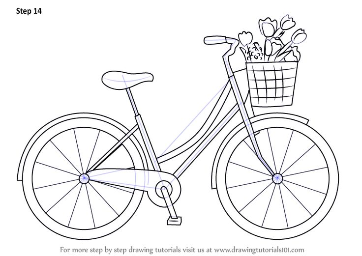 Drawn bike funny A Bicycle How 25+ to