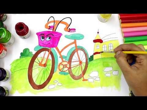 Drawn pushbike animated To Pinterest Ice Learn Bicycle