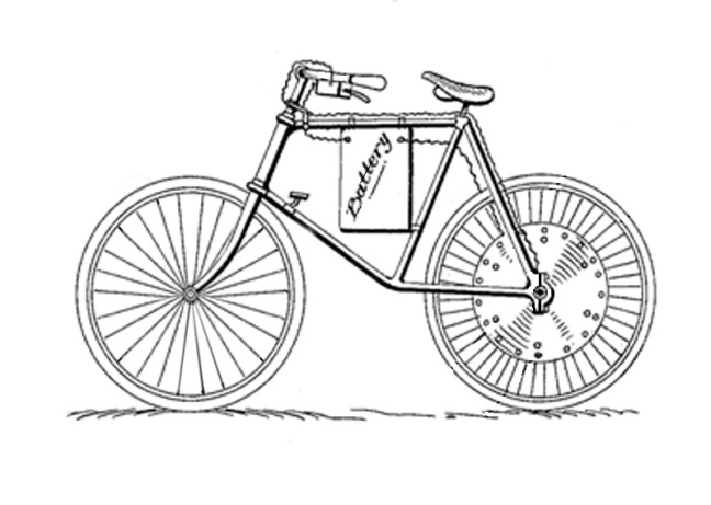 Drawn bike motor #9