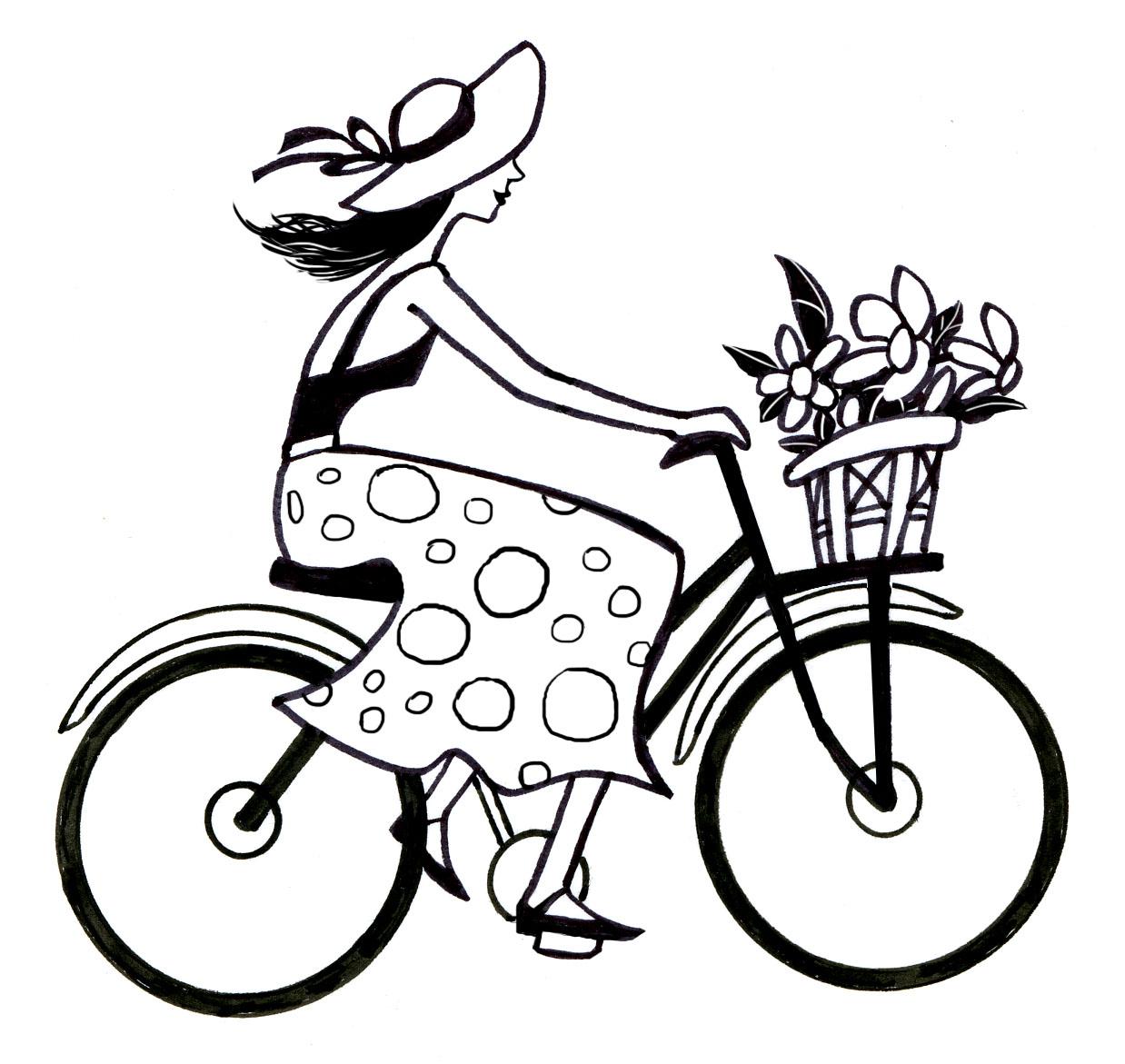 Drawn bike bike riding Drawings — by a Drawings