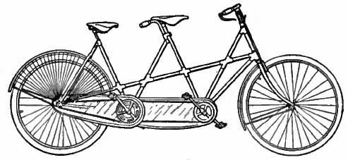 Bicycle clipart double The Raleigh  Tandem Encyclopædia