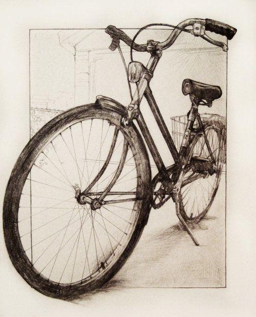 Drawn bike minimalist On 25+ Bicycle Bicycle Benjaminsen