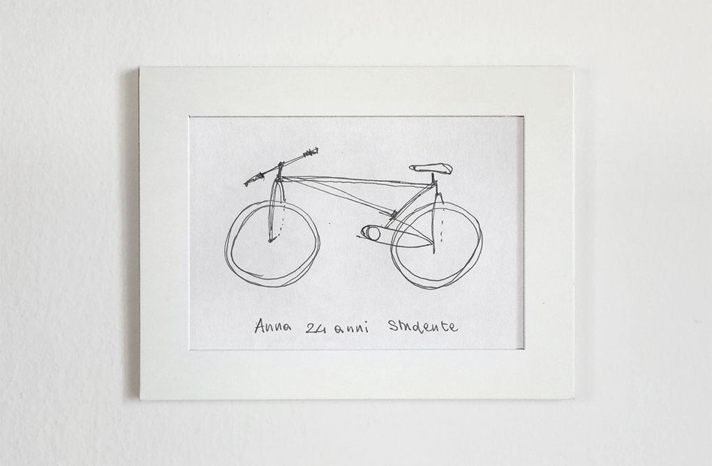 Drawn bike creative #2