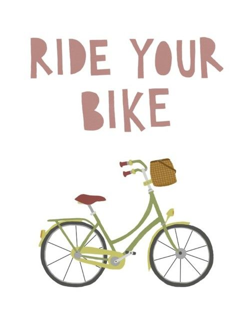 Drawn quote bike From Pinterest Cute Bicycle Bicycle