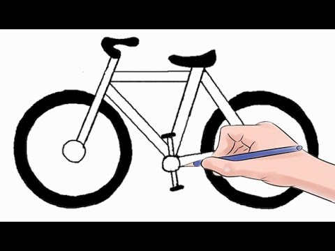 Drawn pushbike easy To Draw Easy by