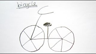 Drawn pushbike easy How Draw Easy Tutorial Cycle
