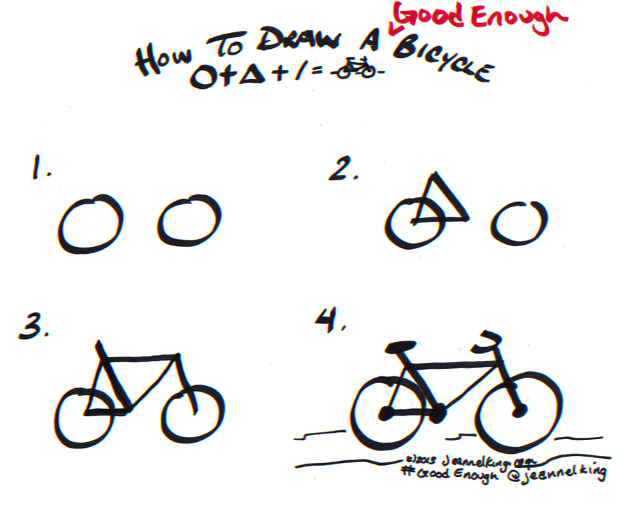 Drawn pushbike easy Jeannel draw Enough tutorial Dibujos