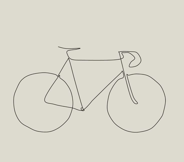 Drawn pushbike easy Drawing Bike Paceline Best The