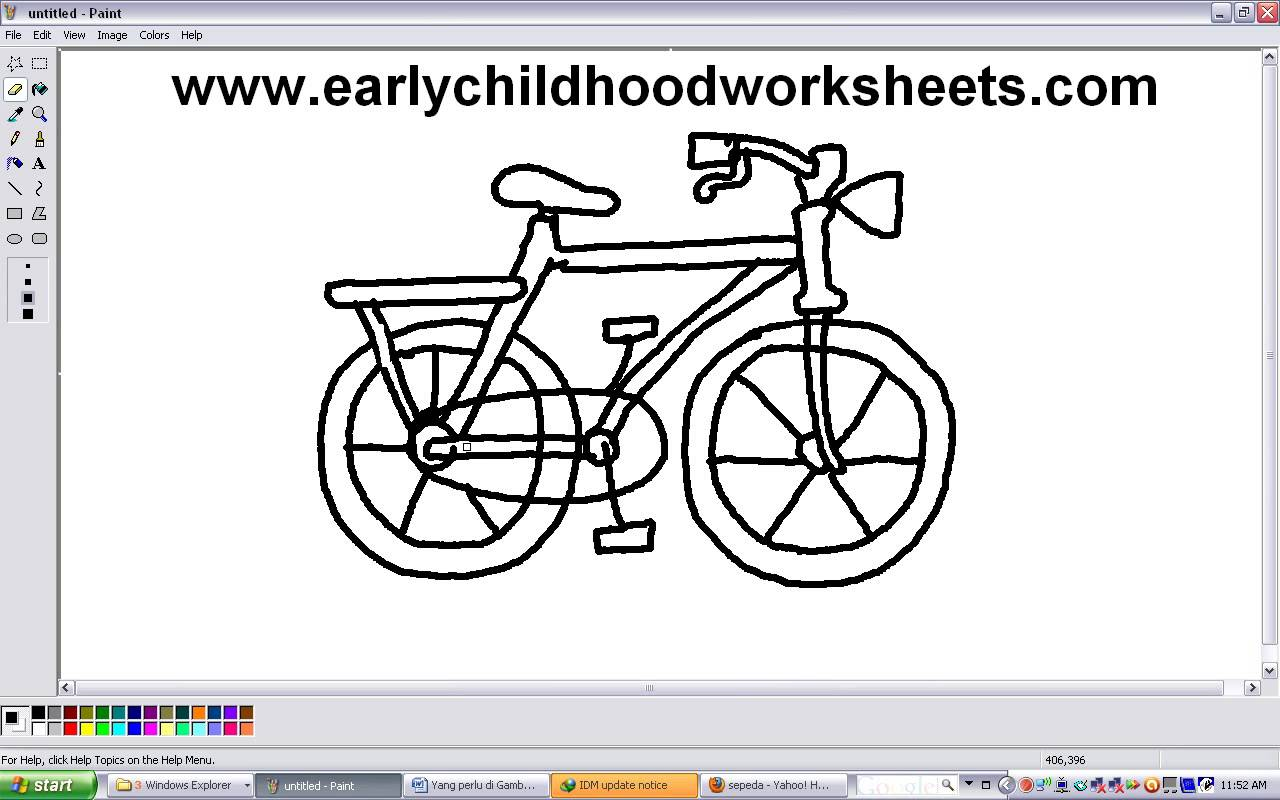 Drawn bicycle Step For Step Cartoons For