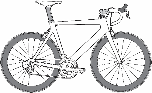 Drawn bicycle For KIDS Bicycle Easy drawings