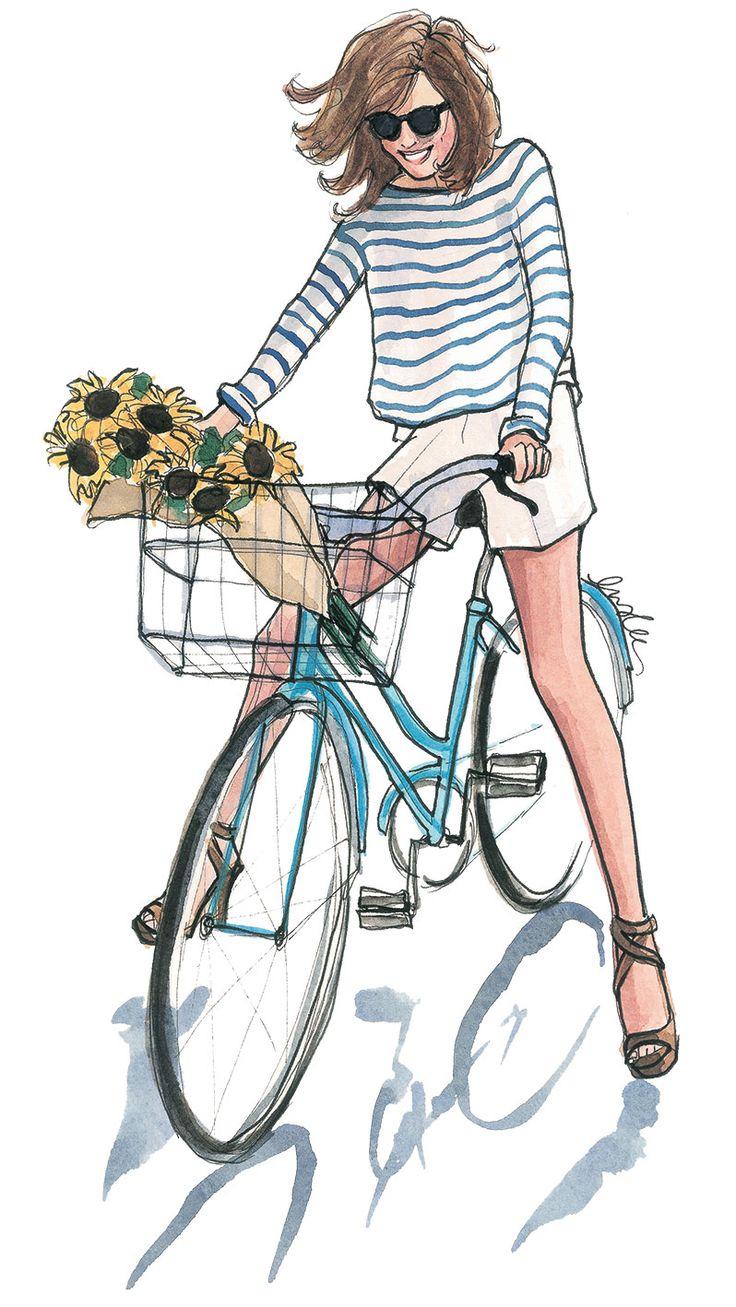 Drawn bike bike riding My to images Pinterest bike