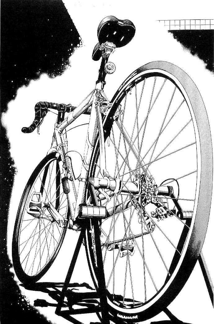 Drawn bike race bike #1