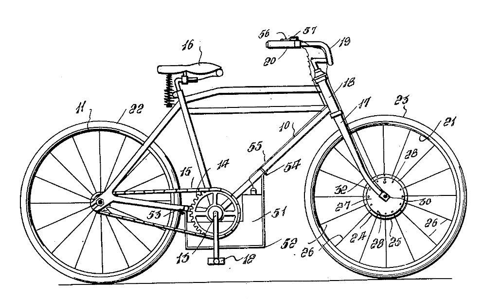 Drawn bike motor #5