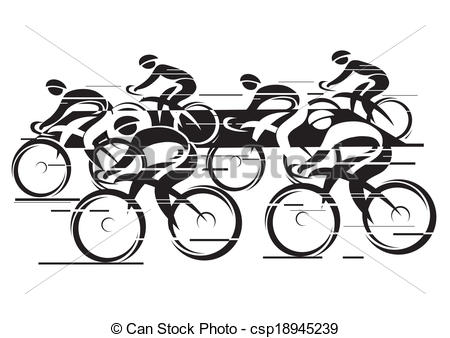 Bike clipart cycle race Race of Cycle Peleton Peleton