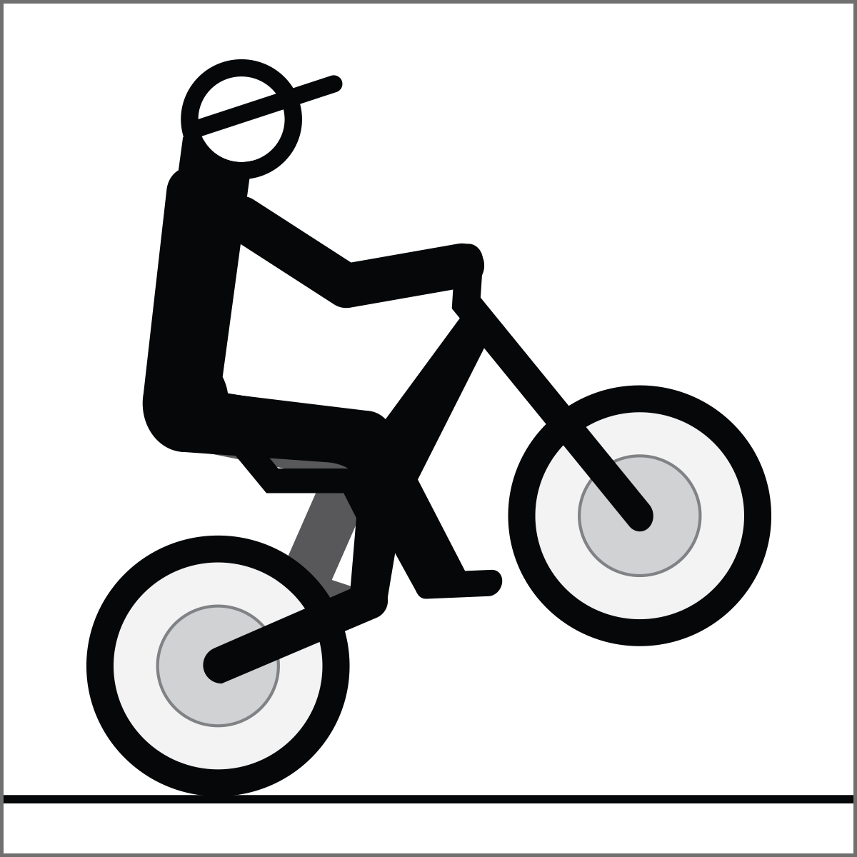 Drawn bike bike riding Race Free  Rider bikes