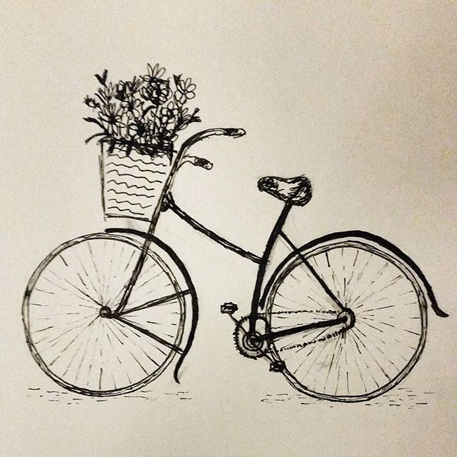 Bicycle clipart old thing Pinterest More vintage drawing Best