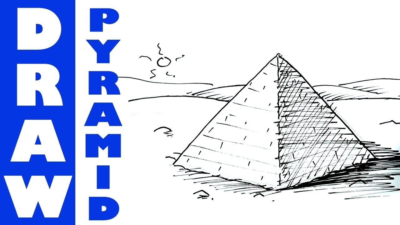 Drawn pyramid To  YouTube draw pyramid