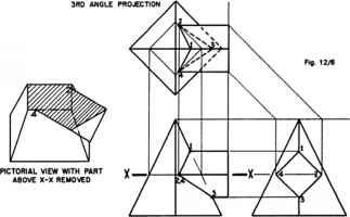 Drawn pyramid animated Nava Arts Intersection Drawing Geometric