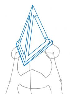 Drawn pyramid art Step from From hill Silent
