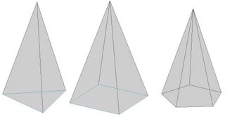 Drawn pyramid based In (Part3) can projection aid