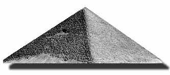 Drawn pyramid basic True pyramid a and on