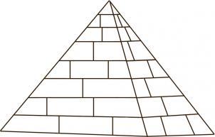 Drawn pyramid basic Gallery drawings  pyramid Image