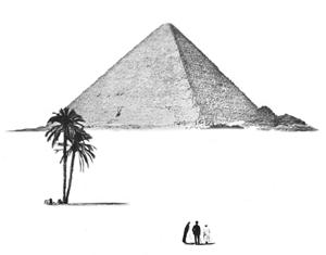 Drawn pyramid basic A Pyramids What Pyramid? is