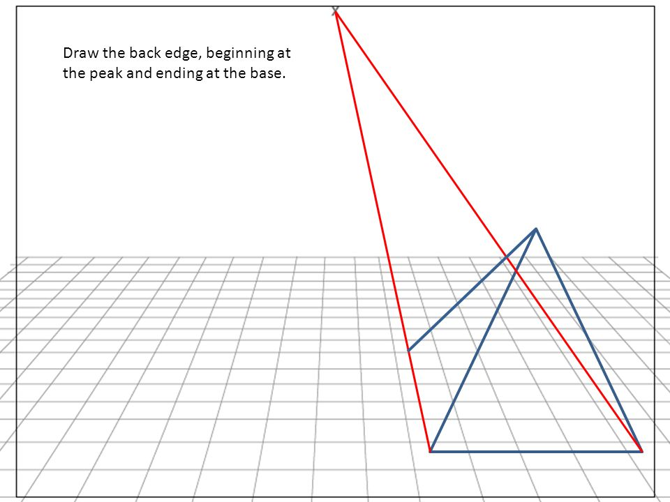 Drawn pyramid beginner And Wedge a Linear Draw