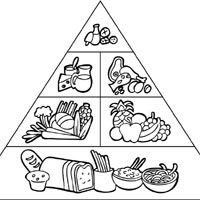 Drawn pyramid black and white » Surfnetkids great for Food
