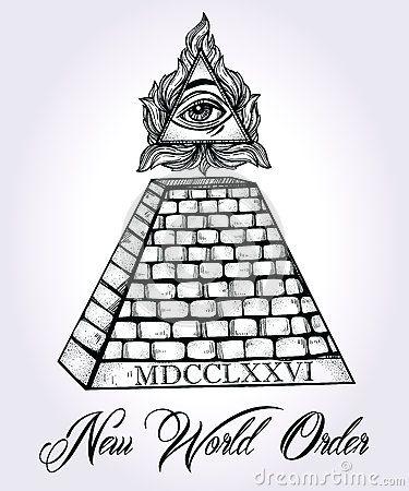Drawn pyramid black and white The trapezoid Pyramid ideas All