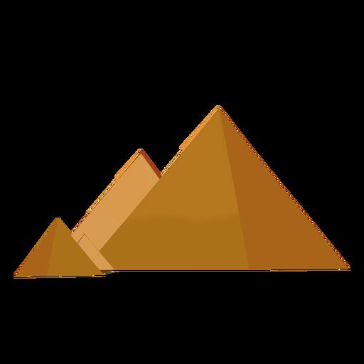 Drawn pyramid cartoon Cartoon landmarks Cairo flag download