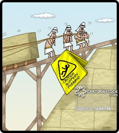 Drawn pyramid cartoon 1093 Cartoons cartoon and 4
