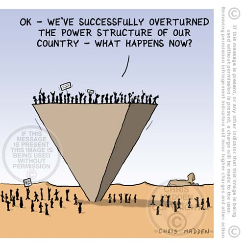 Drawn pyramid cartoon Egypt crisis cartoon