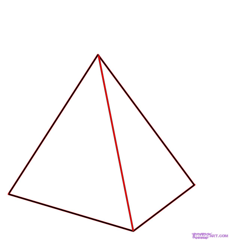 Drawn pyramid clipart Draw  2 Draw to