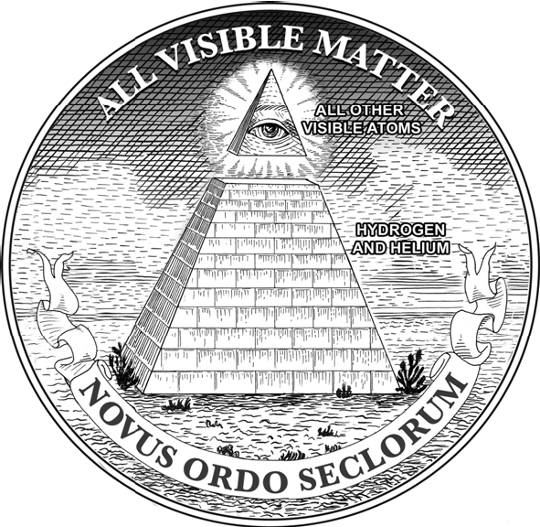 Drawn pyramid dollar bill pyramid From Center The View the