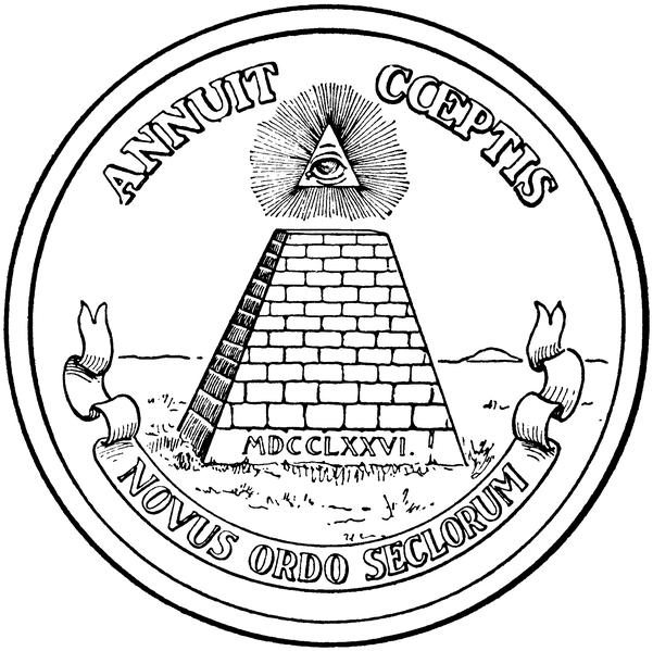Drawn pyramid dollar bill pyramid Pyramid have 1 one a