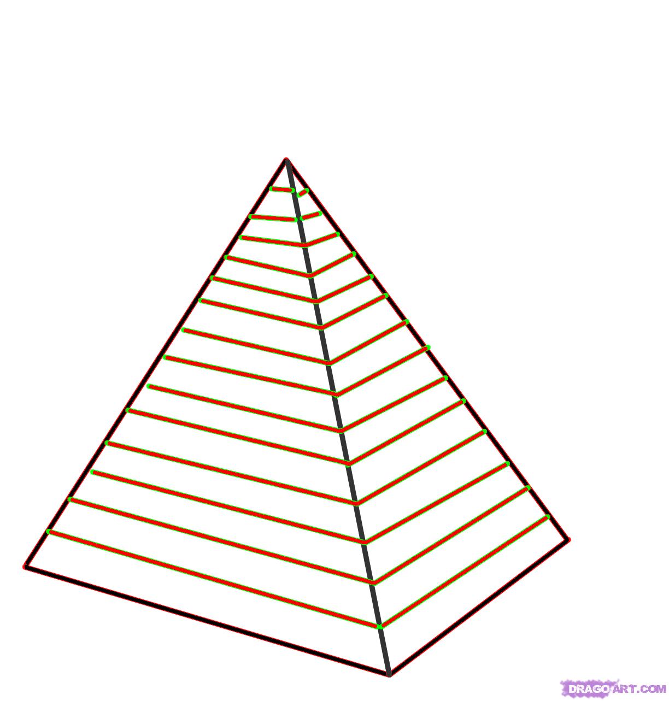 Drawn pyramid easy To How 000000016137 Pyramid Version
