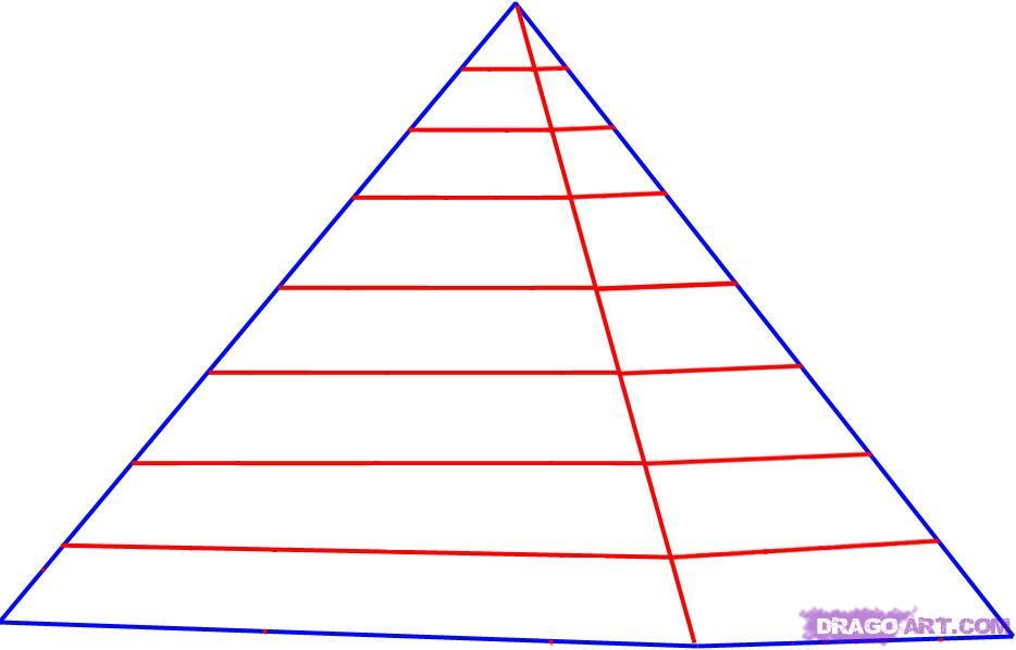 Drawn pyramid easy To How 000000014924 Pyramid Version