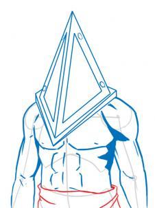 Drawn pyramid easy Head Pyramid silent pyramid Draw