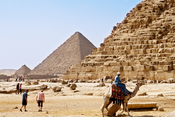 Drawn pyramid egyptian architecture Transported Egyptians Huge How Architecture